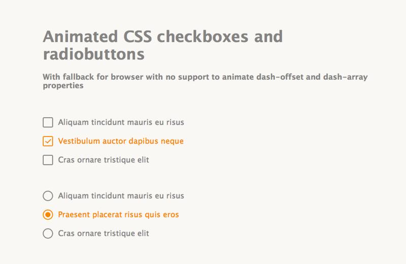 25+ CSS Checkbox Styles From CodePen 2018 - Freebie Supply