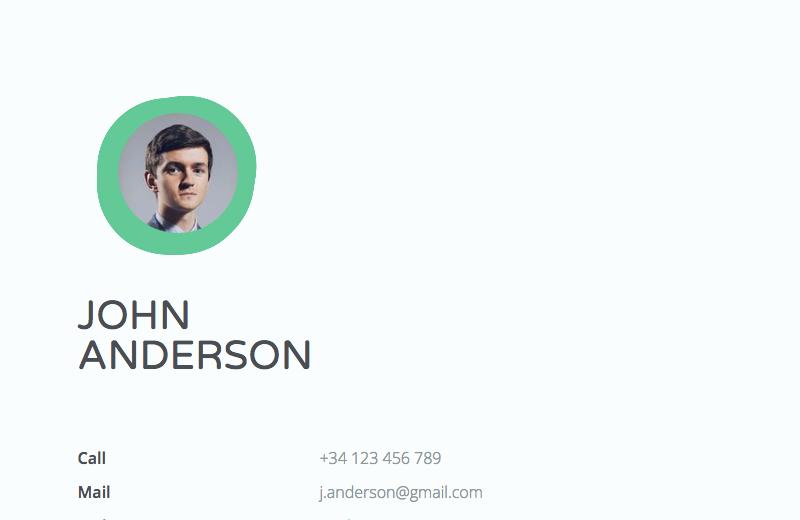 HTML Resume & Portfolio Templates From CodePen - Freebie Supply