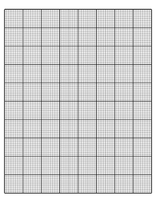 Graph Paper Printable | 28 Printable Graph Paper And Grid Paper Templates Freebie Supply