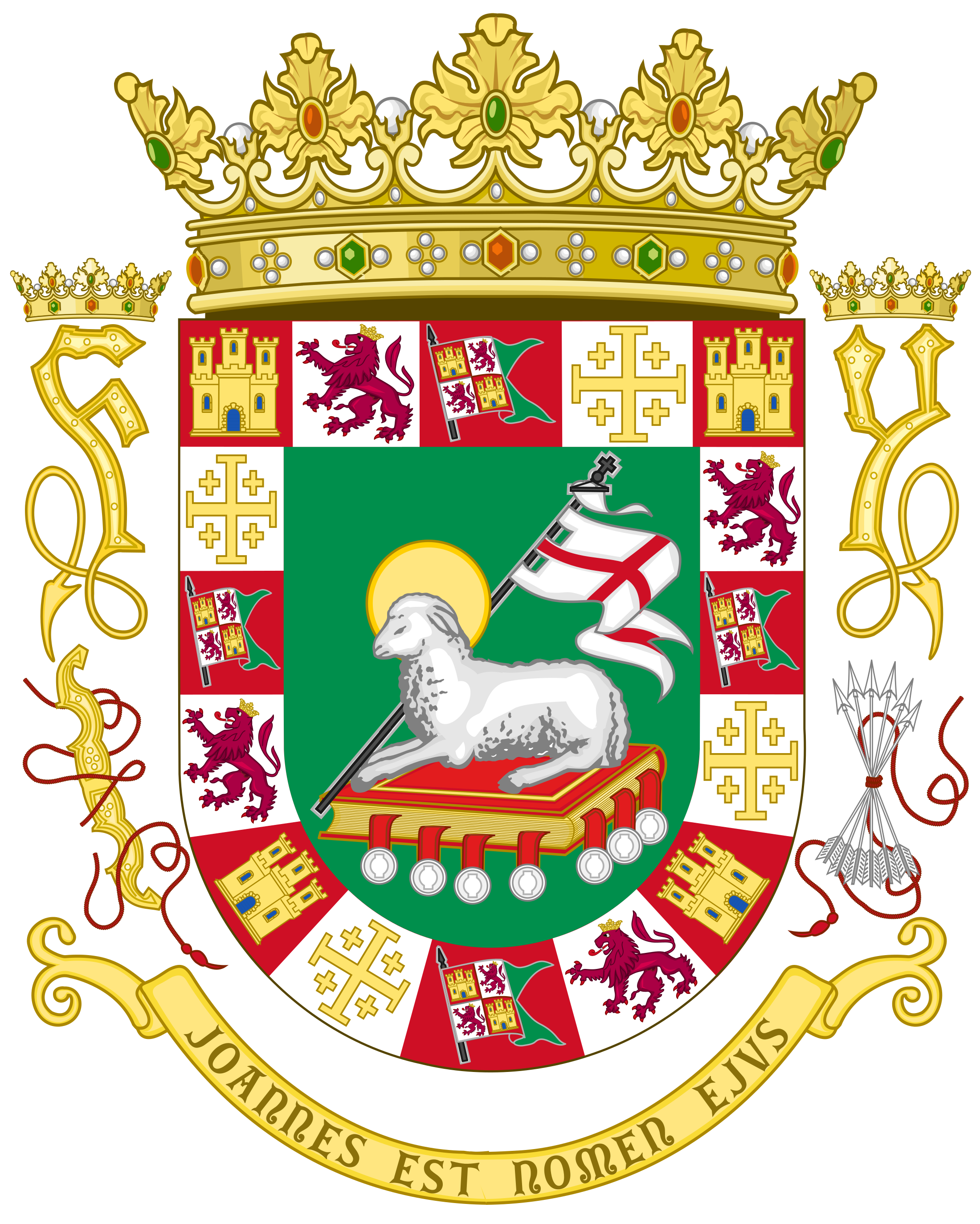 Puerto Rico Coat Of Arms Png Svg Vector Freebie Supply
