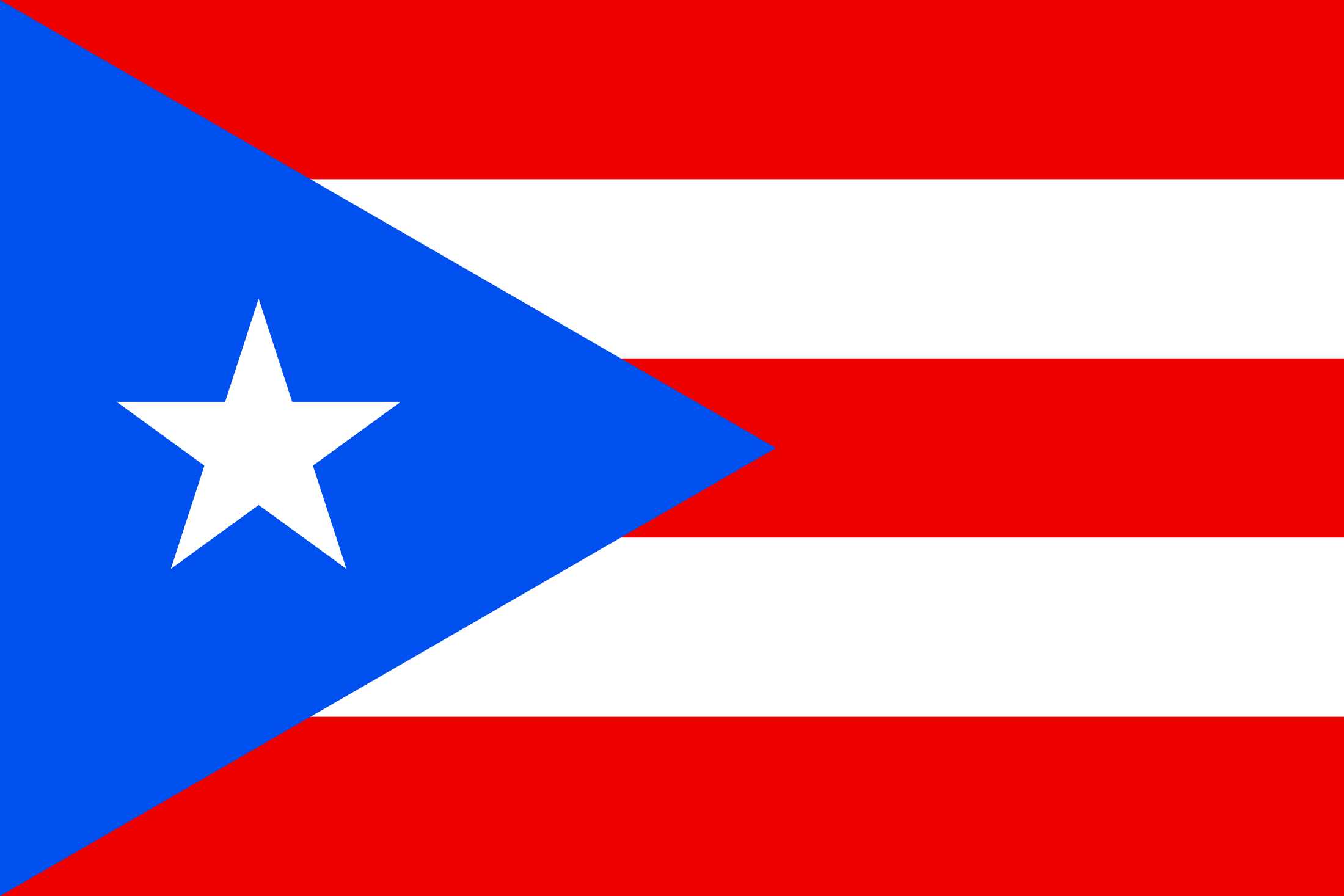 Puerto Rico Flag Png Svg Vector Freebie Supply