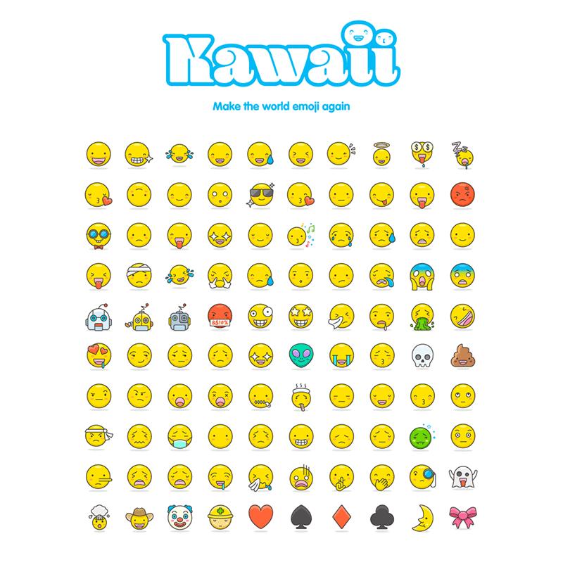 100 Free & Cute Vector Emoji - Freebie Supply