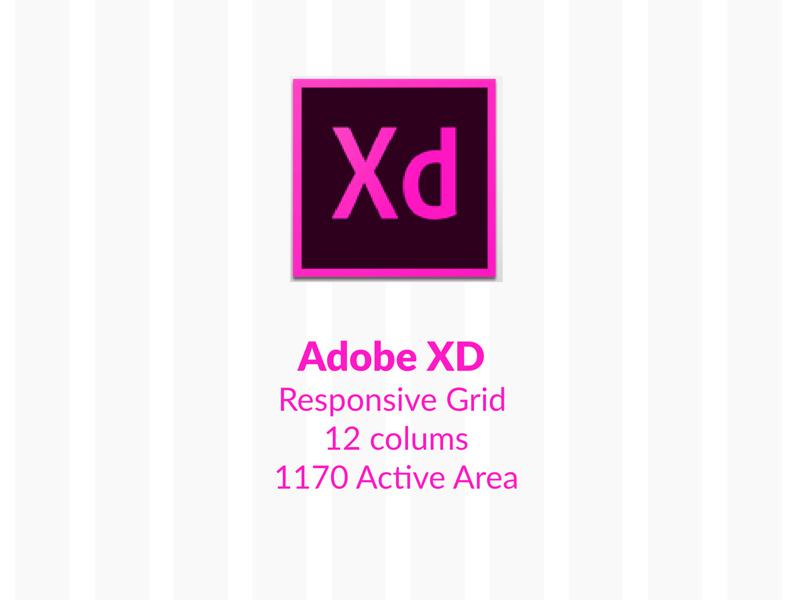 Adobe Experience Design 12 Column Responsive Grid 1170 Freebie Supply