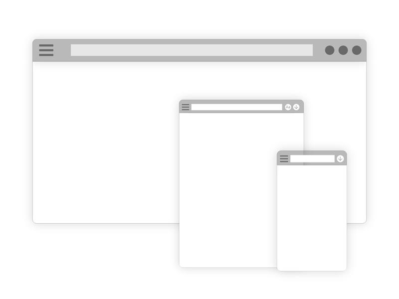 Adobe XD Web Browser Mockup - Freebie Supply