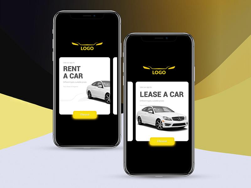 Car Rental App Design Free Psd Freebie Supply
