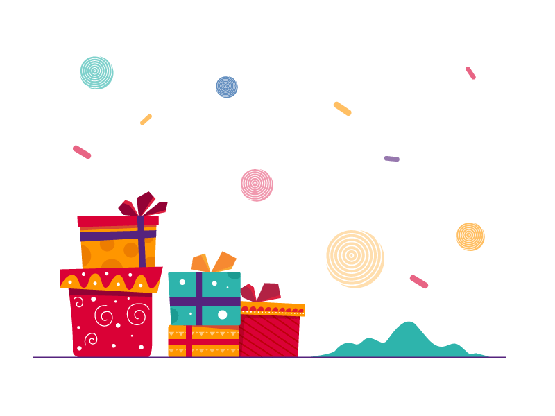 christmas gifts vector freebie supply christmas gifts vector freebie supply