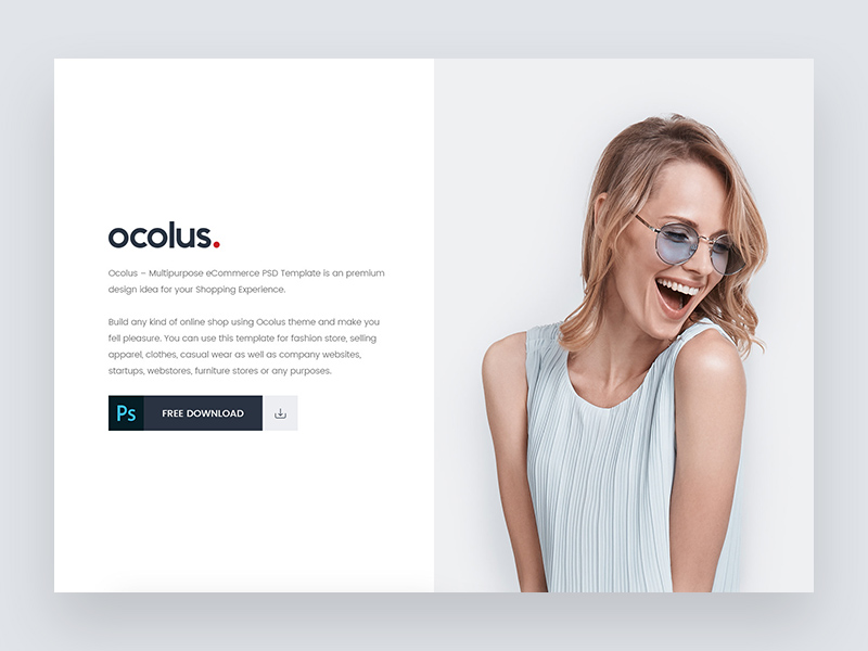 Multi Purpose Ecommerce Website Template Freebie Supply