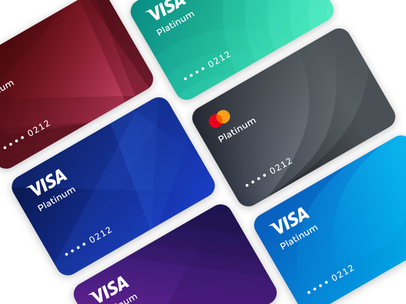credit card templates for figma freebie supply