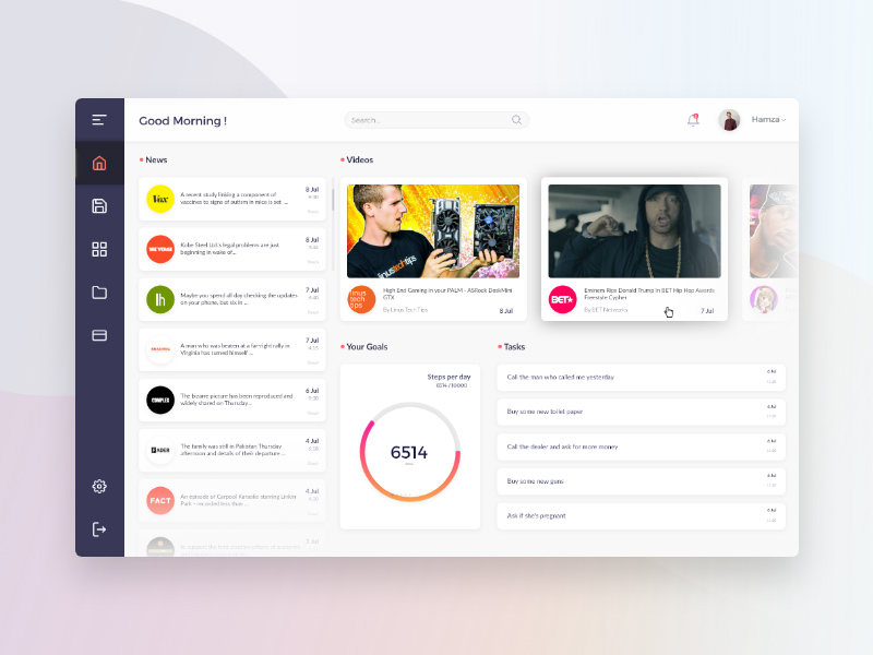 Dashboard Web App Made With Adobe Xd Freebie Supply