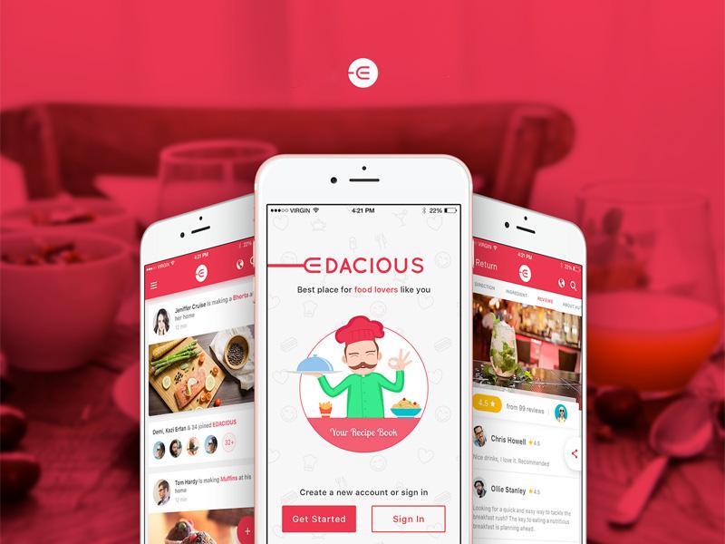 14 Free Food UI Kits for Photoshop, Sketch & Adobe