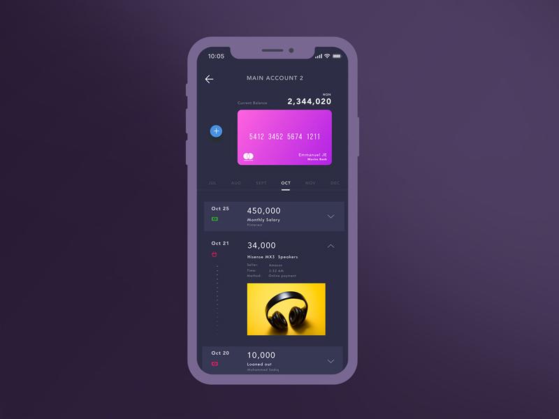 finance tracking app concept free sketch freebie supply