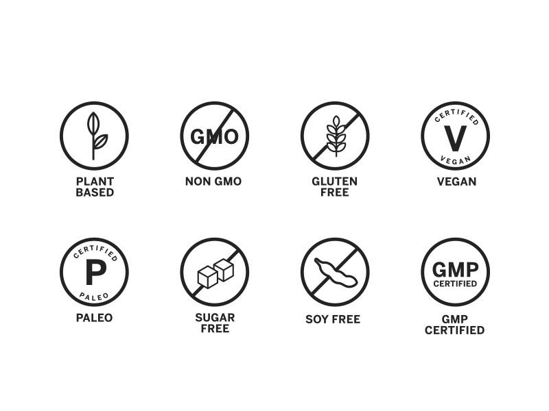 Food Claim Icons Pack - Freebie Supply