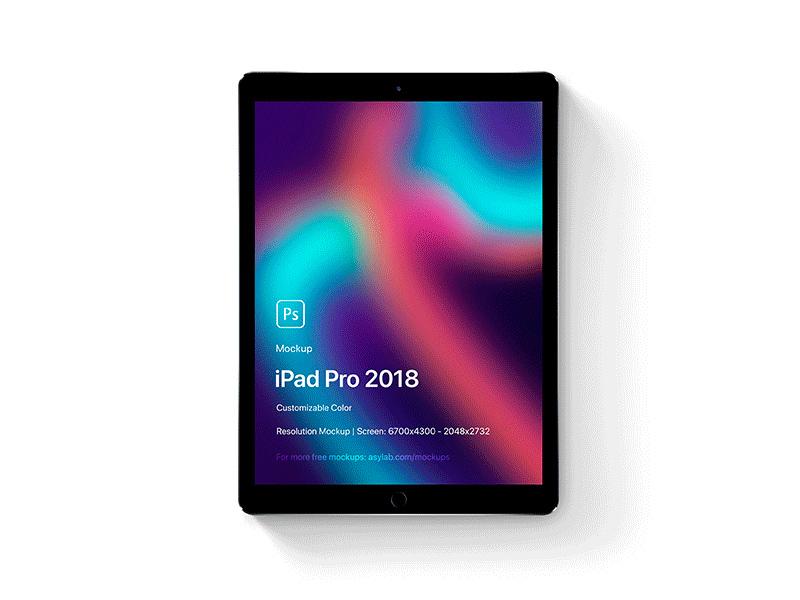 iPad Pro 2018 5K Mockup PSD - Freebie Supply