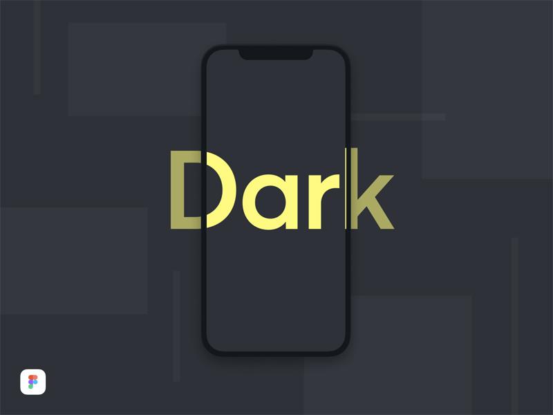 iPhone X Dark Mockup for Figma - Freebie Supply