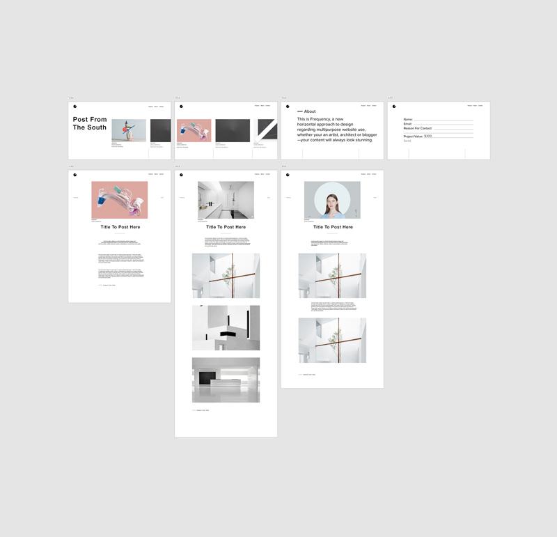 Free Adobe XD Portfolio - Juno - Freebie Supply
