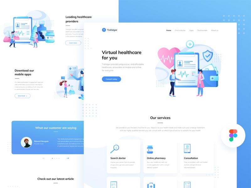 Medical Startup Website Template