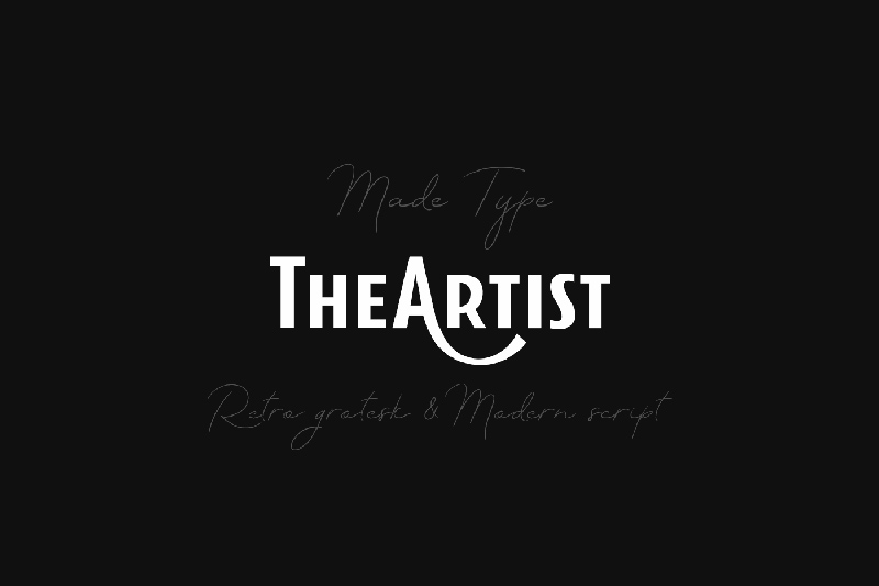 MADE TheArtist - Free Font for Personal Use - Freebie Supply