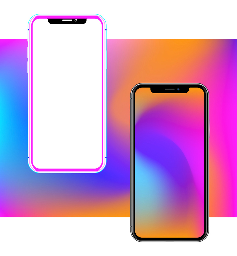 iPhone X Figma Mockup For Mobile Apps - Freebie Supply