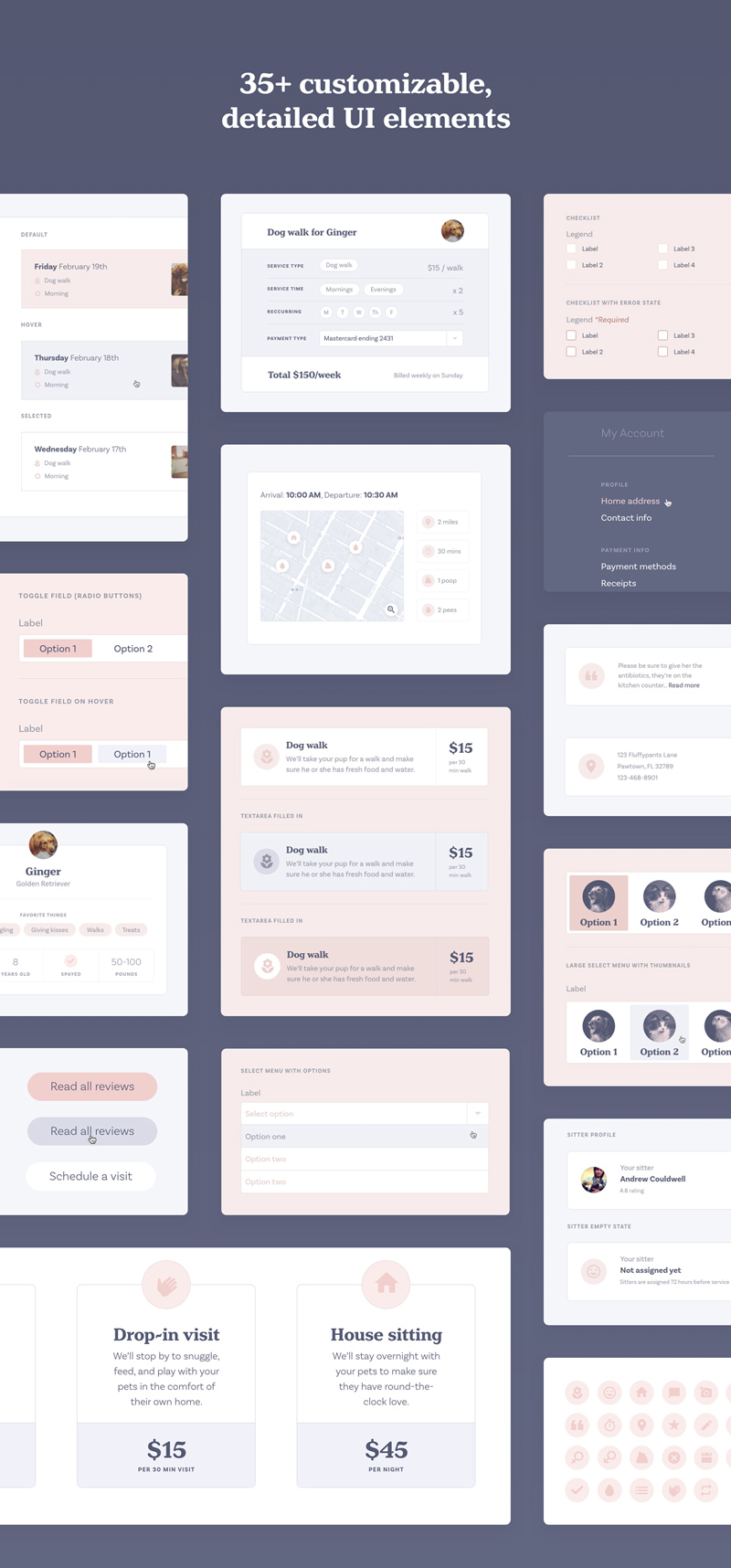 16 Adobe XD UI Kits by Top Designers - Freebie Supply