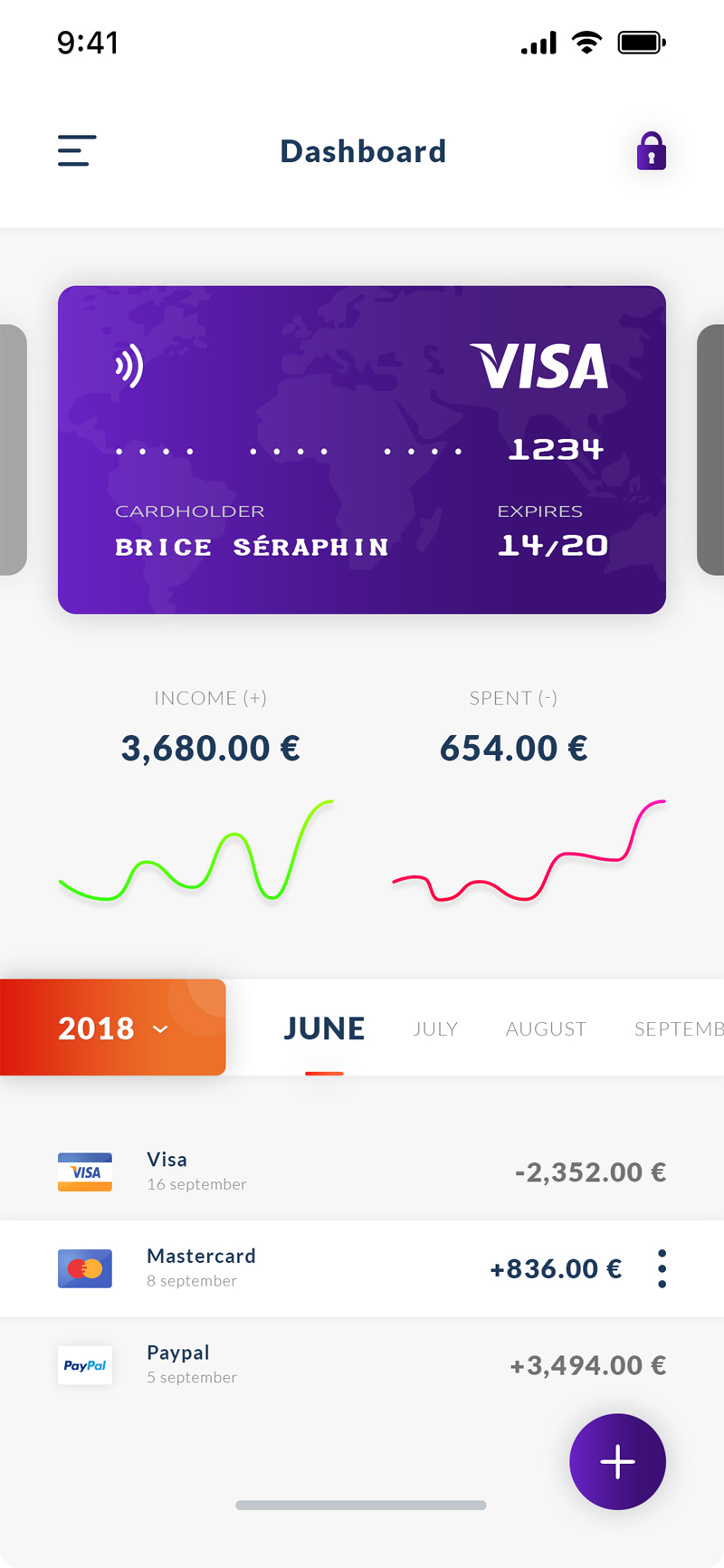 Payment Dashboard App - Free Resource - Freebie Supply