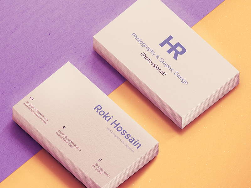 personal business card  free psd  freebie supply