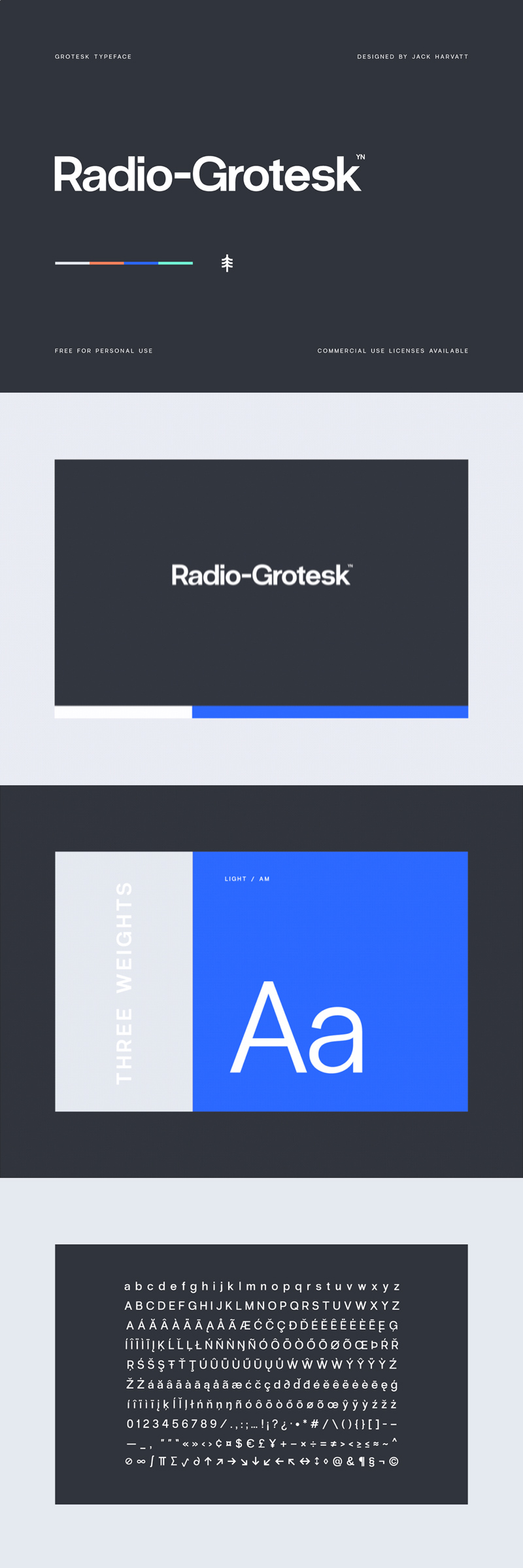 Radio-Grotesk Grotesk Font - Freebie Supply