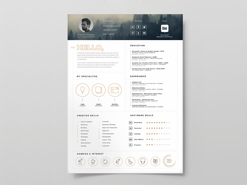 resume template - free resource