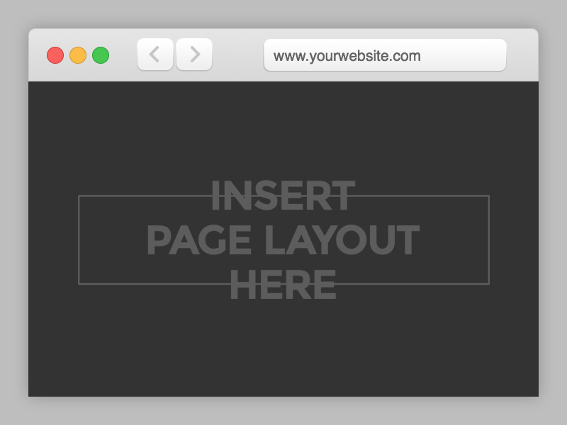 Safari Browser Mockup Template - Free PSD - Freebie Supply