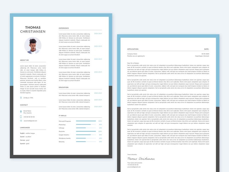 CV template for Sketch
