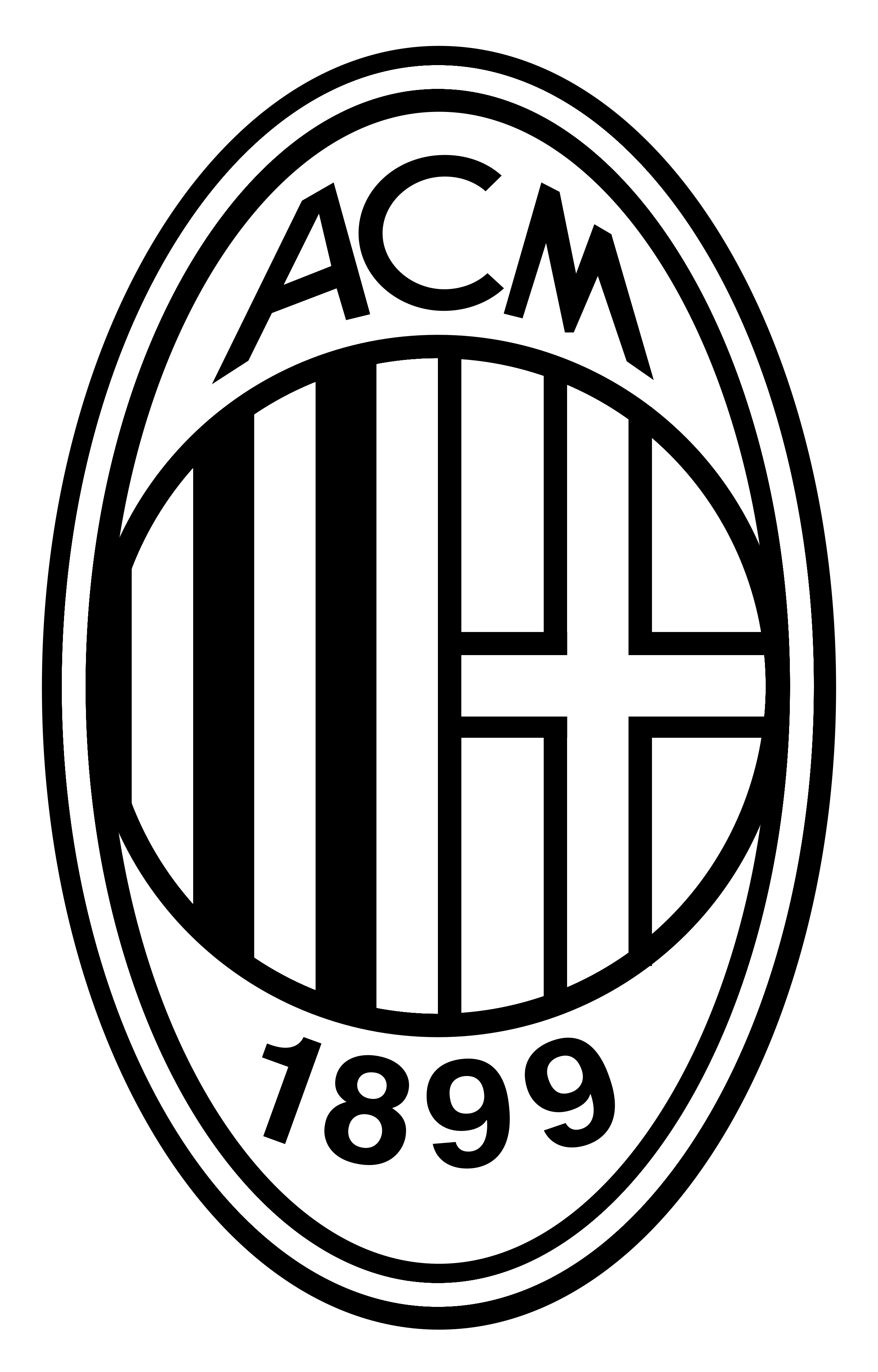 A.C. Milan Logo PNG Transparent & SVG Vector - Freebie Supply