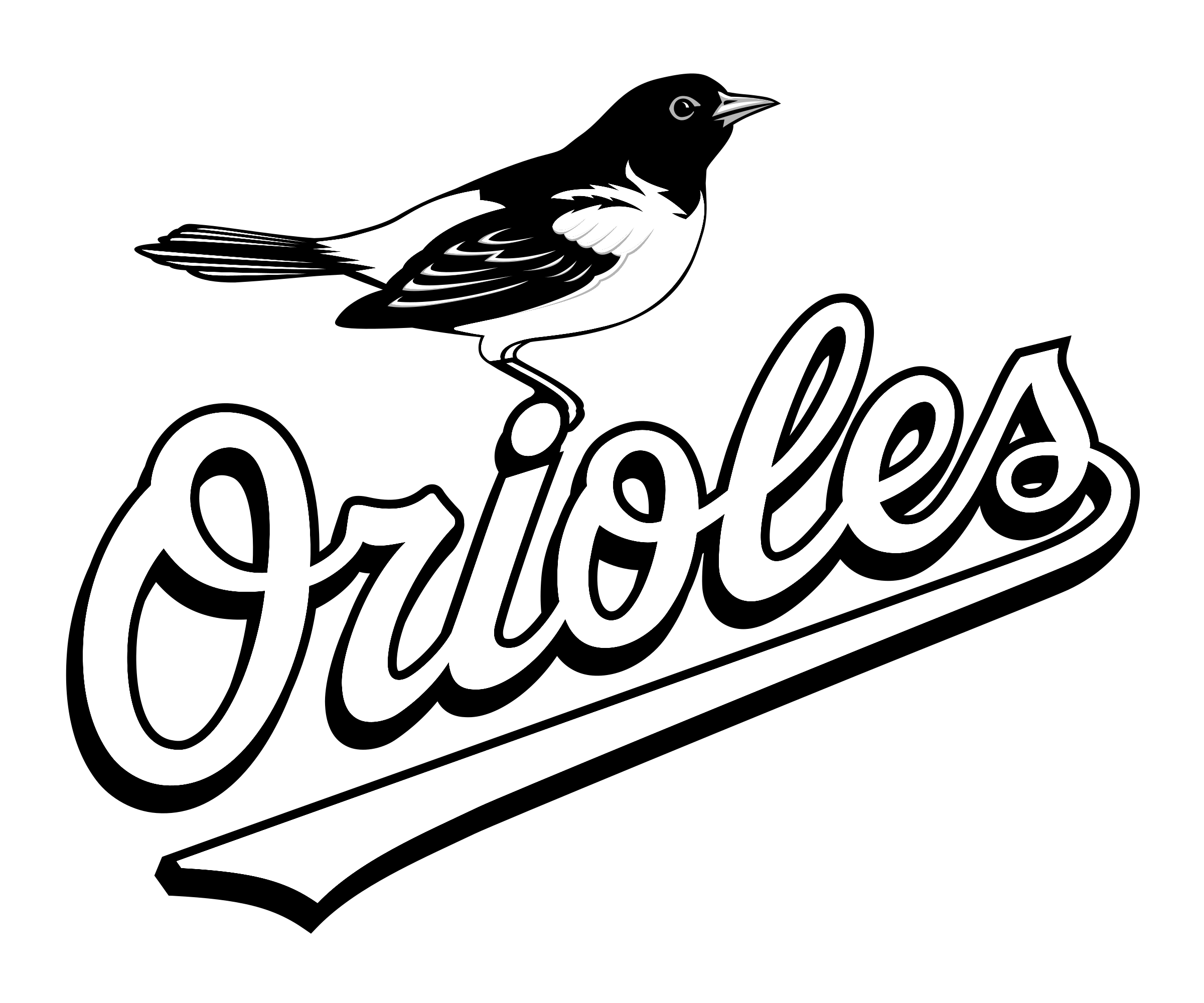 baltimore orioles coloring pages free - photo#6