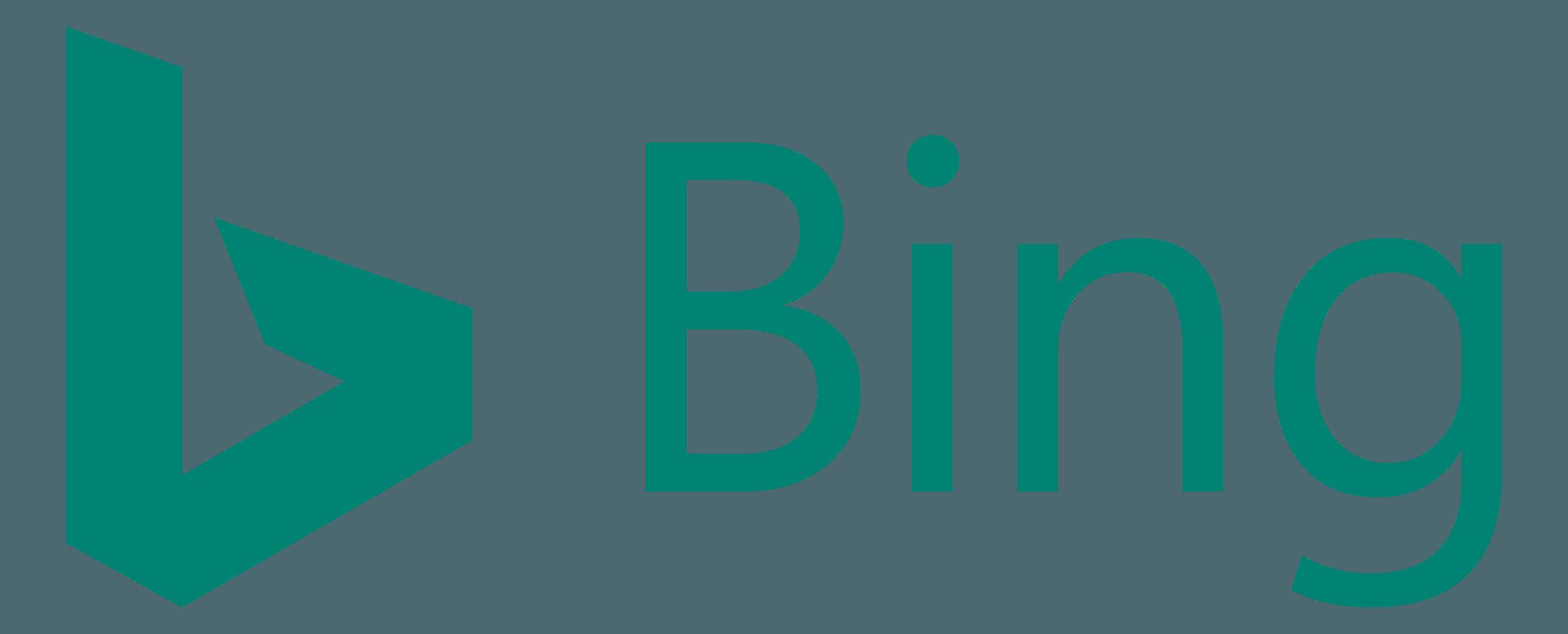 Bing Logo PNG Transparent & SVG Vector