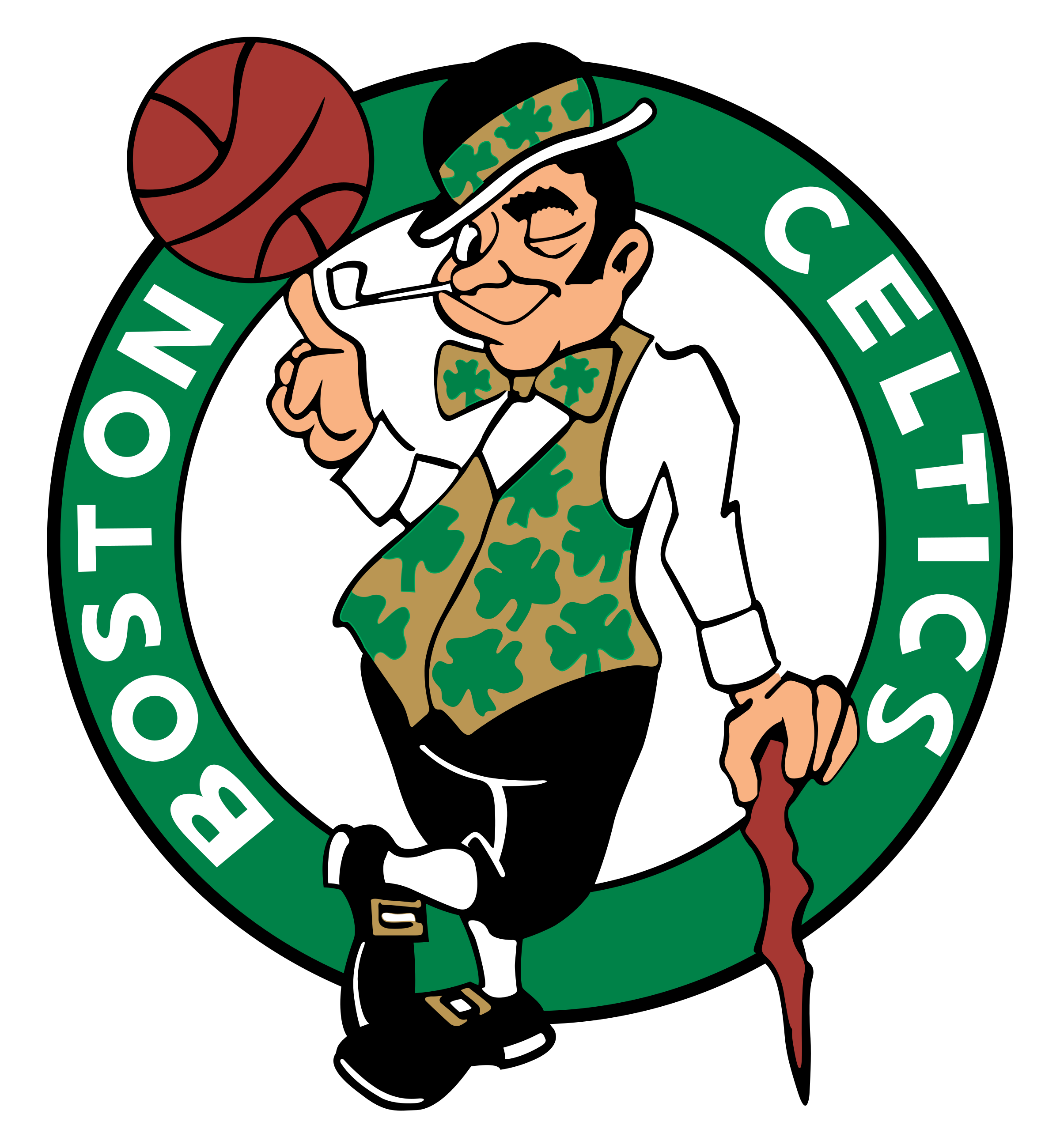 Boston Celtics Logo PNG Transparent & SVG Vector - Freebie ...