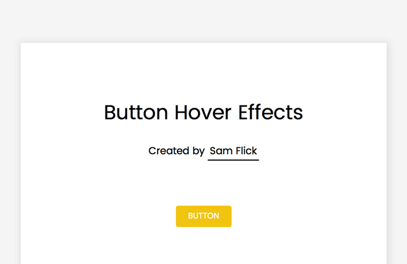 50+ CSS Button Hover Examples From CodePen 2018 - Freebie Supply