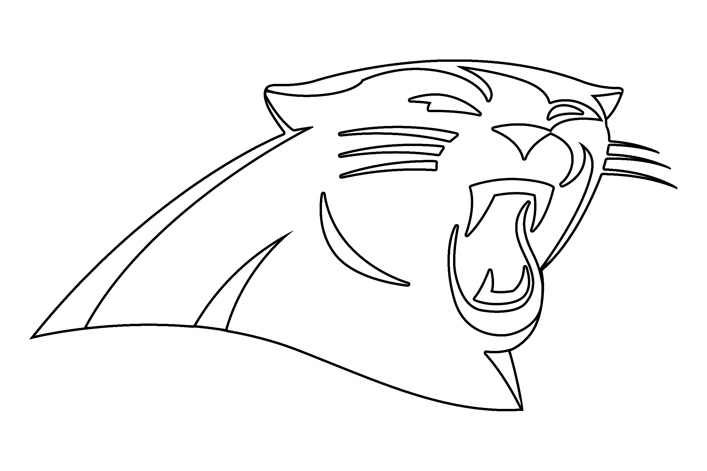 Carolina Panthers Logo Png Transparent Svg Vector Freebie Supply
