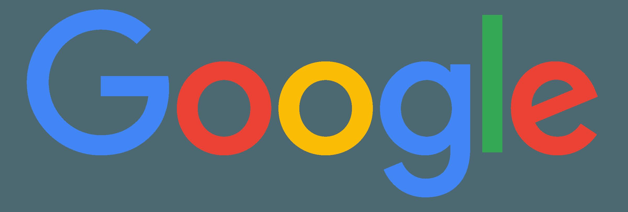 Google Logo PNG Transparent & SVG Vector