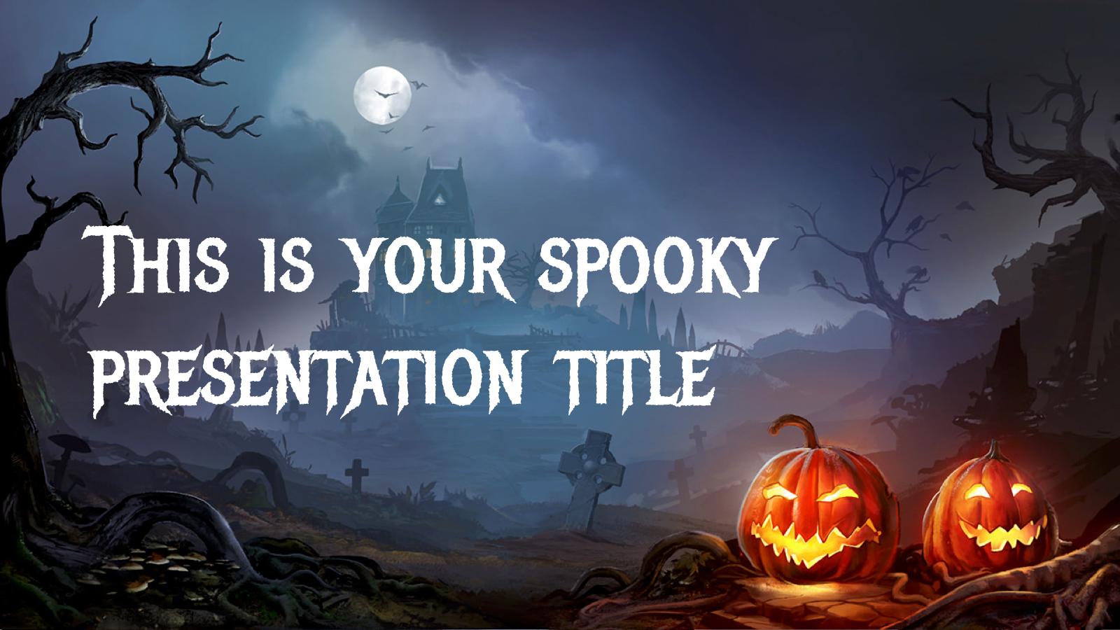 halloween 2017 free powerpoint template google slides theme