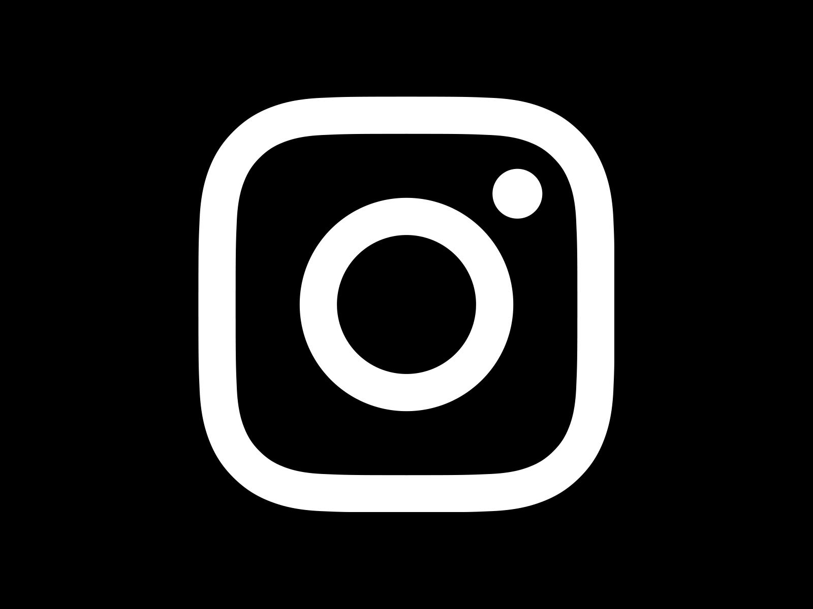 Black Instagram Icon For Facebook Instagram Logo PNG Tra...
