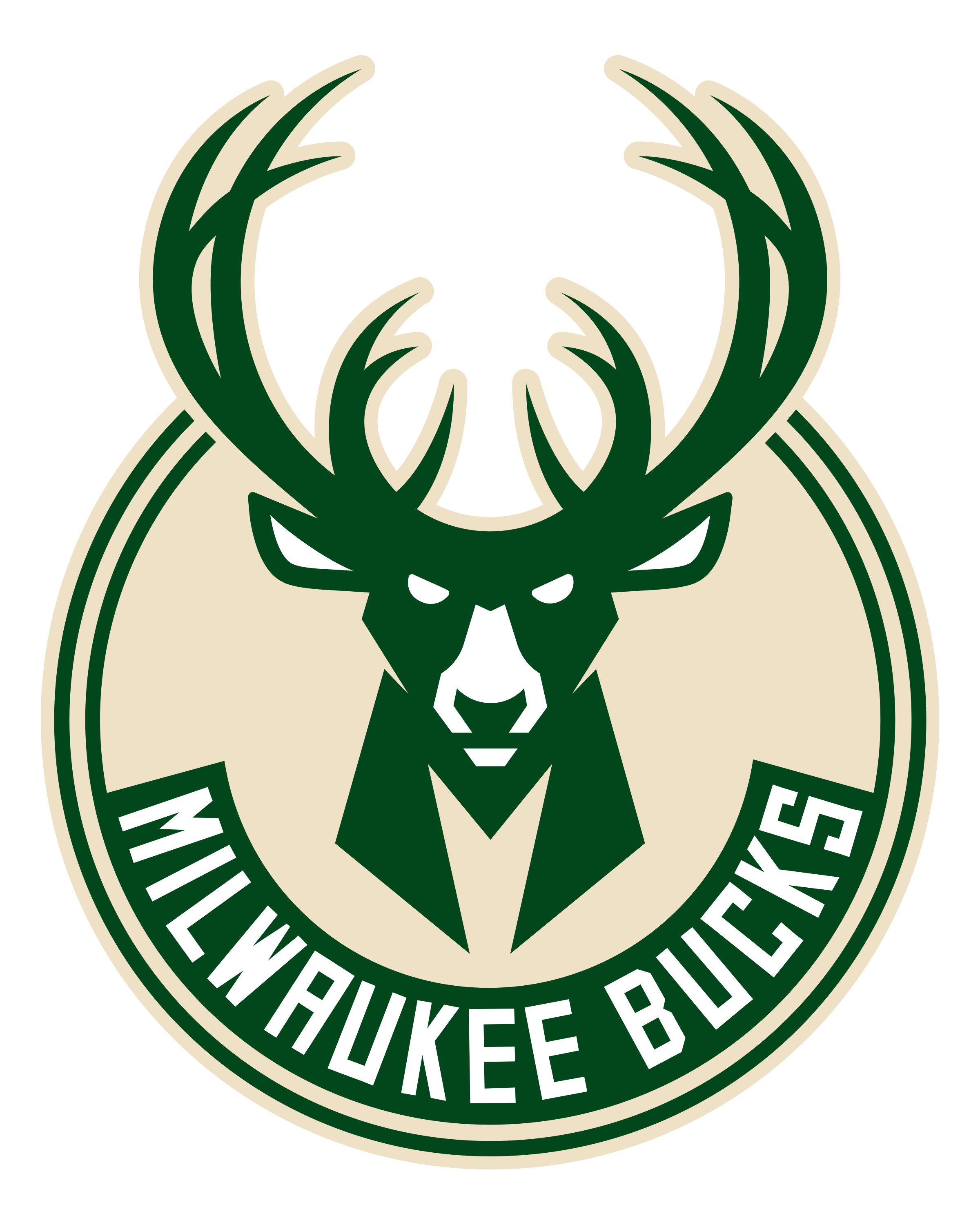 Milwaukee Bucks Logo Png Transparent Svg Vector Freebie Supply