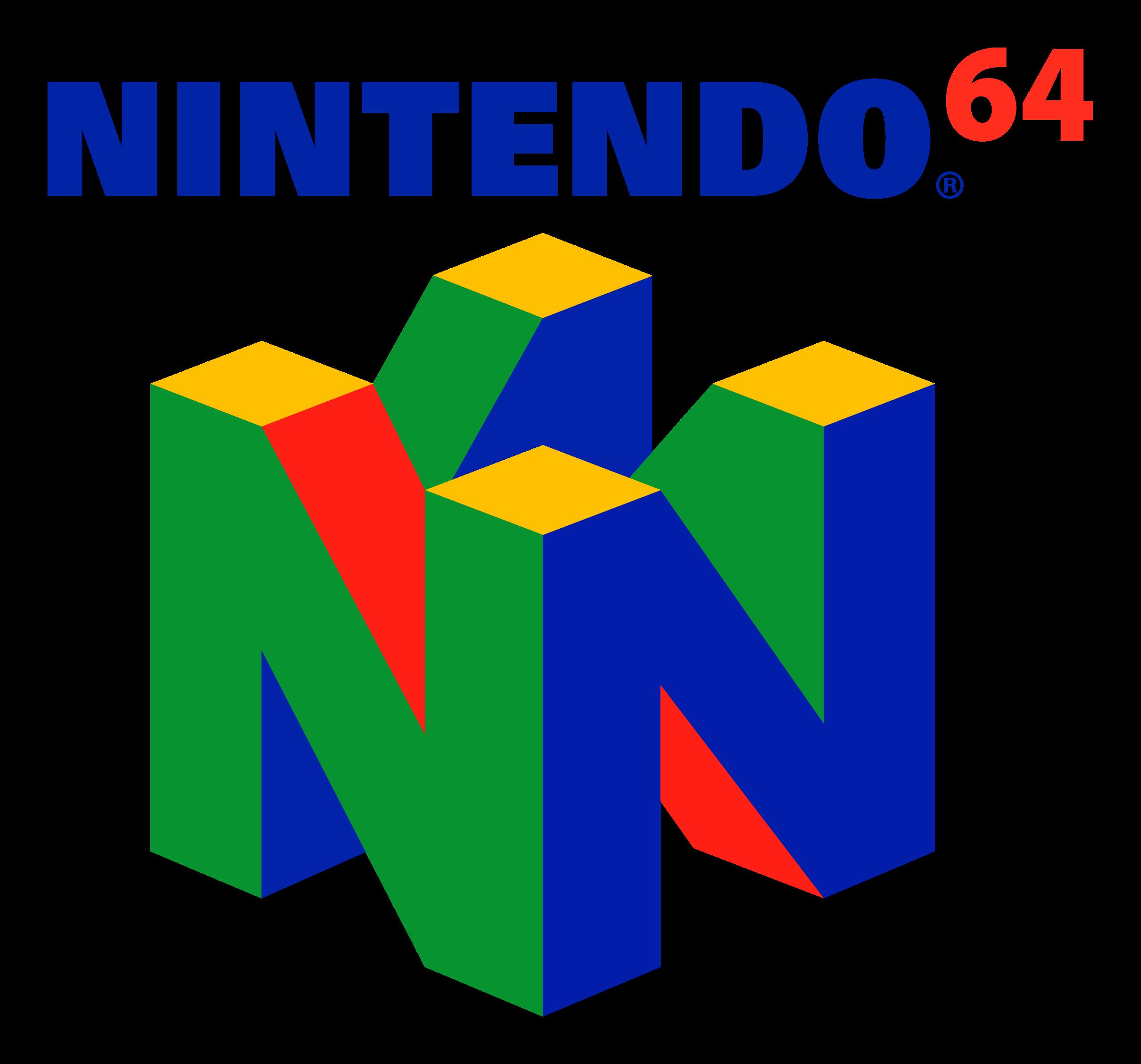 N64 Logo PNG Transparent & SVG Vector - Freebie Supply