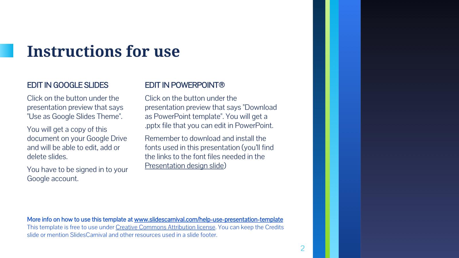 nestor free powerpoint template google slides theme freebie supply