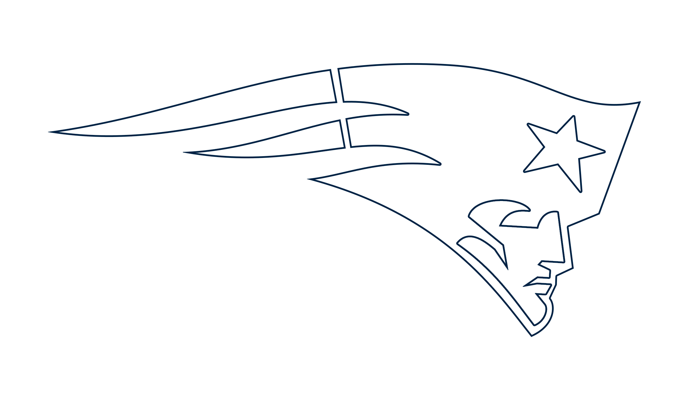 This is a picture of New England Patriots Printable Logo inside symbol