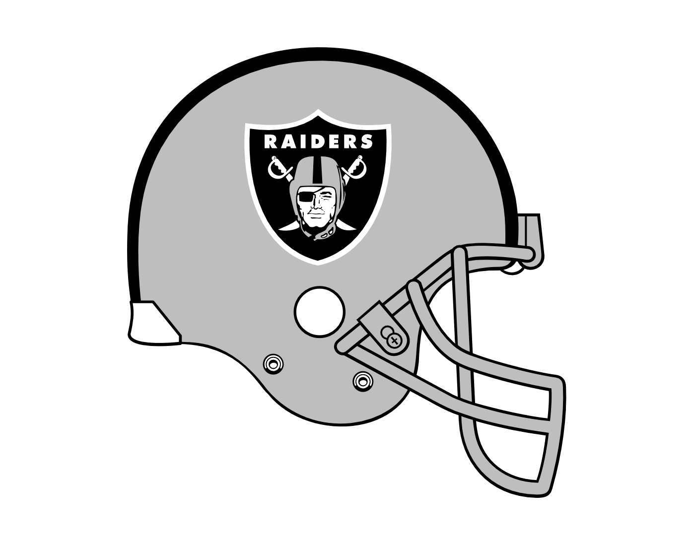 Oakland Raiders Logo Png Transparent Svg Vector Freebie Supply