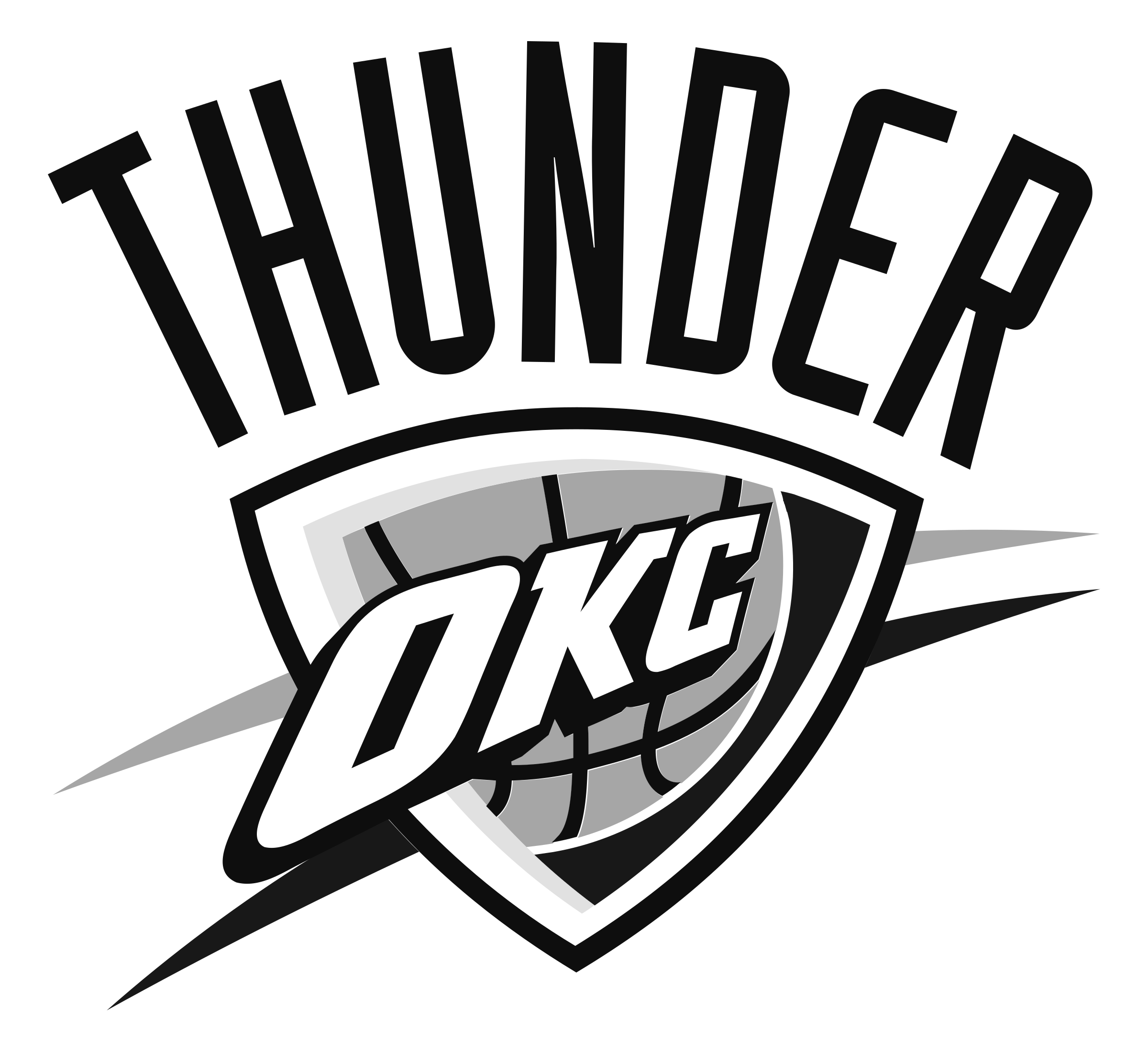 Oklahoma City Thunder Logo PNG Transparent & SVG Vector - Freebie Supply