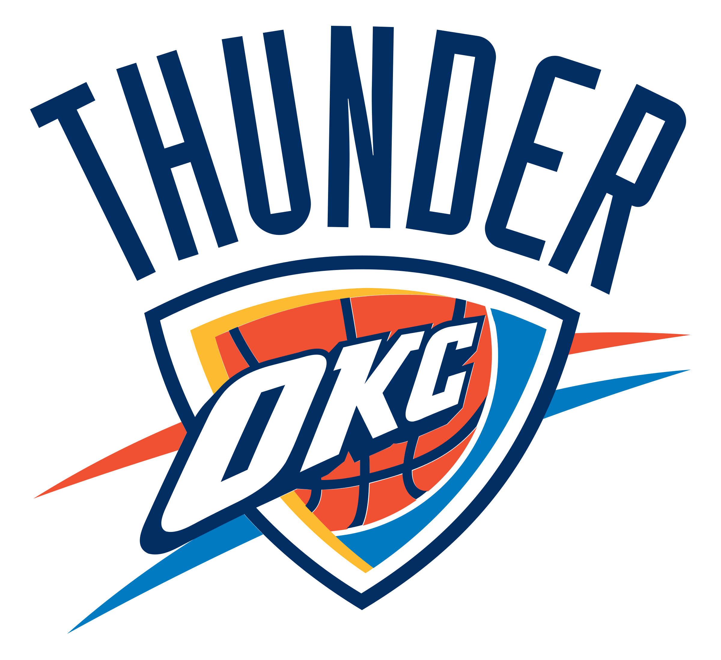 Oklahoma City Thunder Logo Png Transparent Svg Vector Freebie Supply