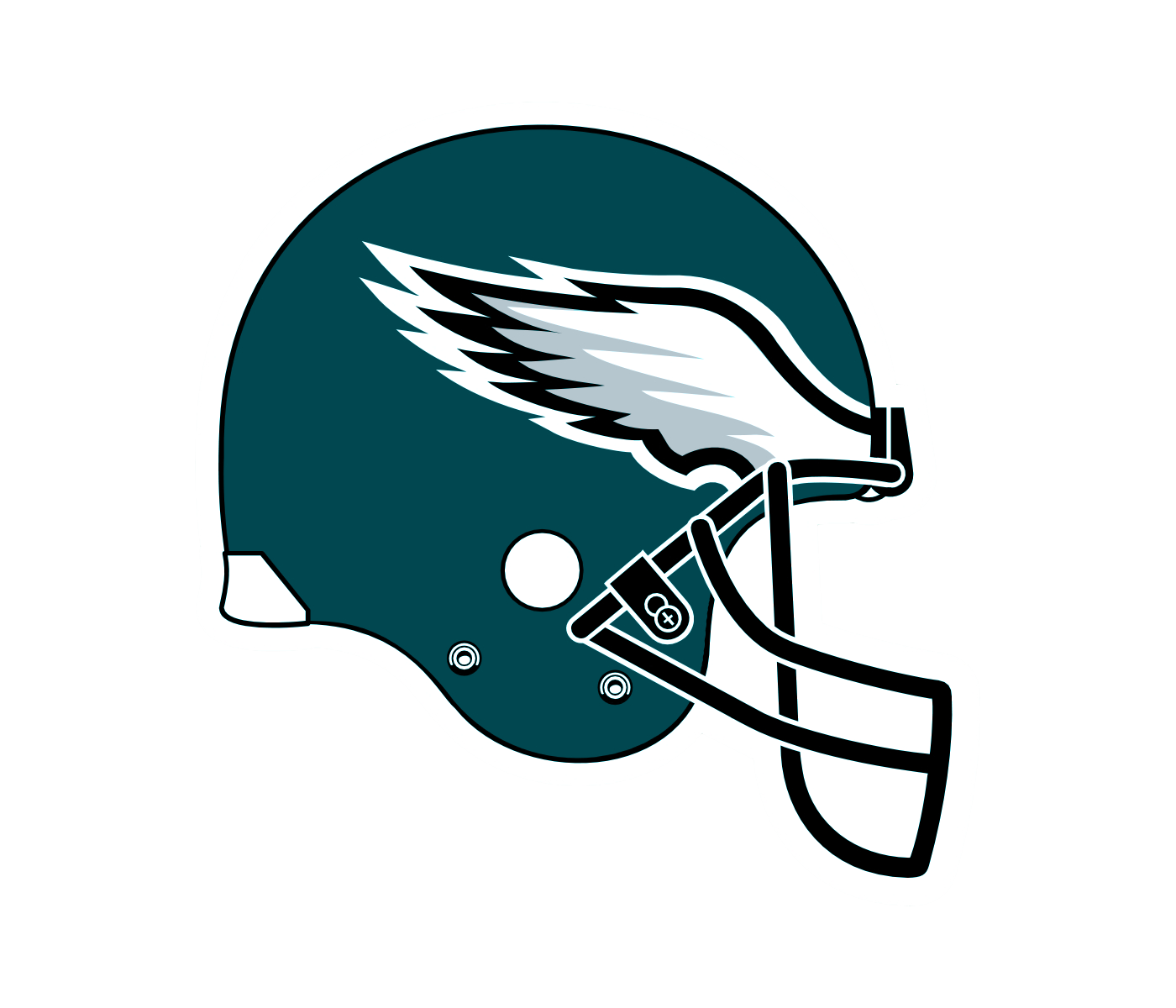 Philadelphia Eagles Super Bowl Lii Chions Logo Giant Officially Licensed Removable Wall Graphic Fathead