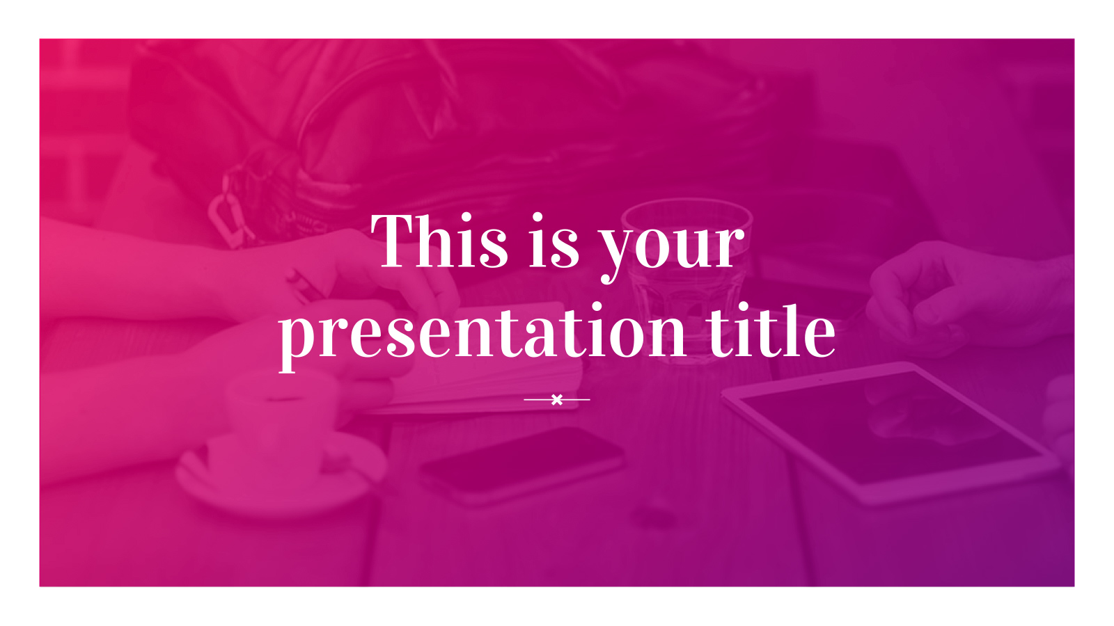rosalind free powerpoint template google slides theme freebie