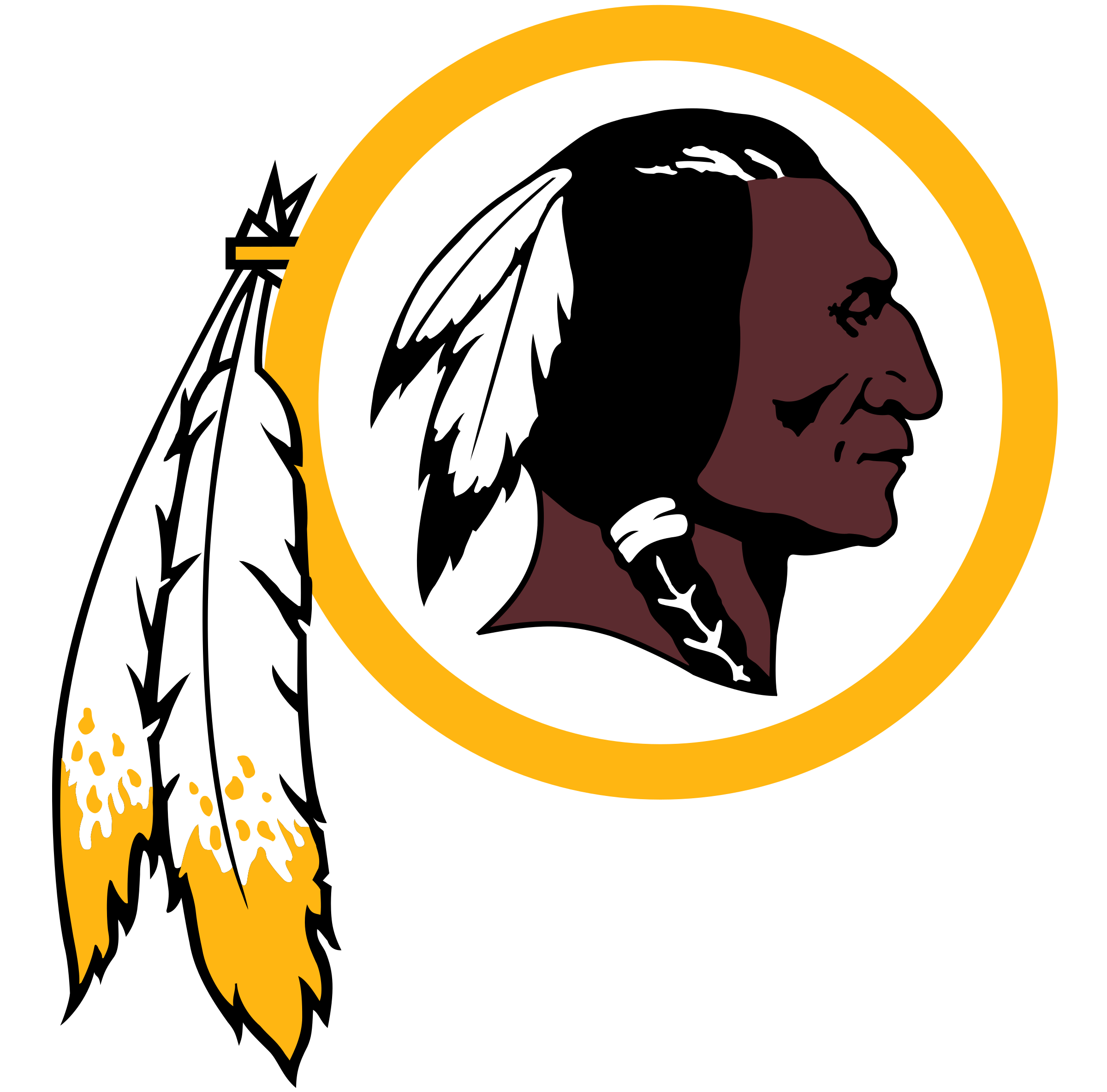 Image result for washington redskins png