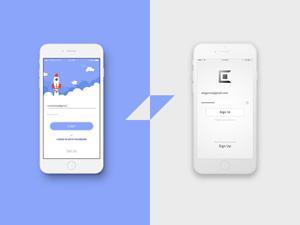 Uber-Like Taxi App UI - Freebie Supply