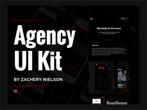 Adobe XD Dashboard UI Kit - Freebie Supply